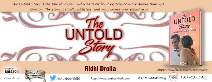 Blog Tour: THE UNTOLD STORY by Ridhi Drolia