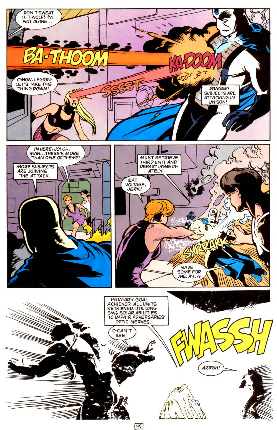Legion of Super-Heroes (1989) 50 Page 45