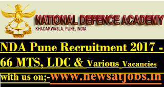 NDA-Pune-jobs-2017-66-MTS-LDc-Various-Vacancies