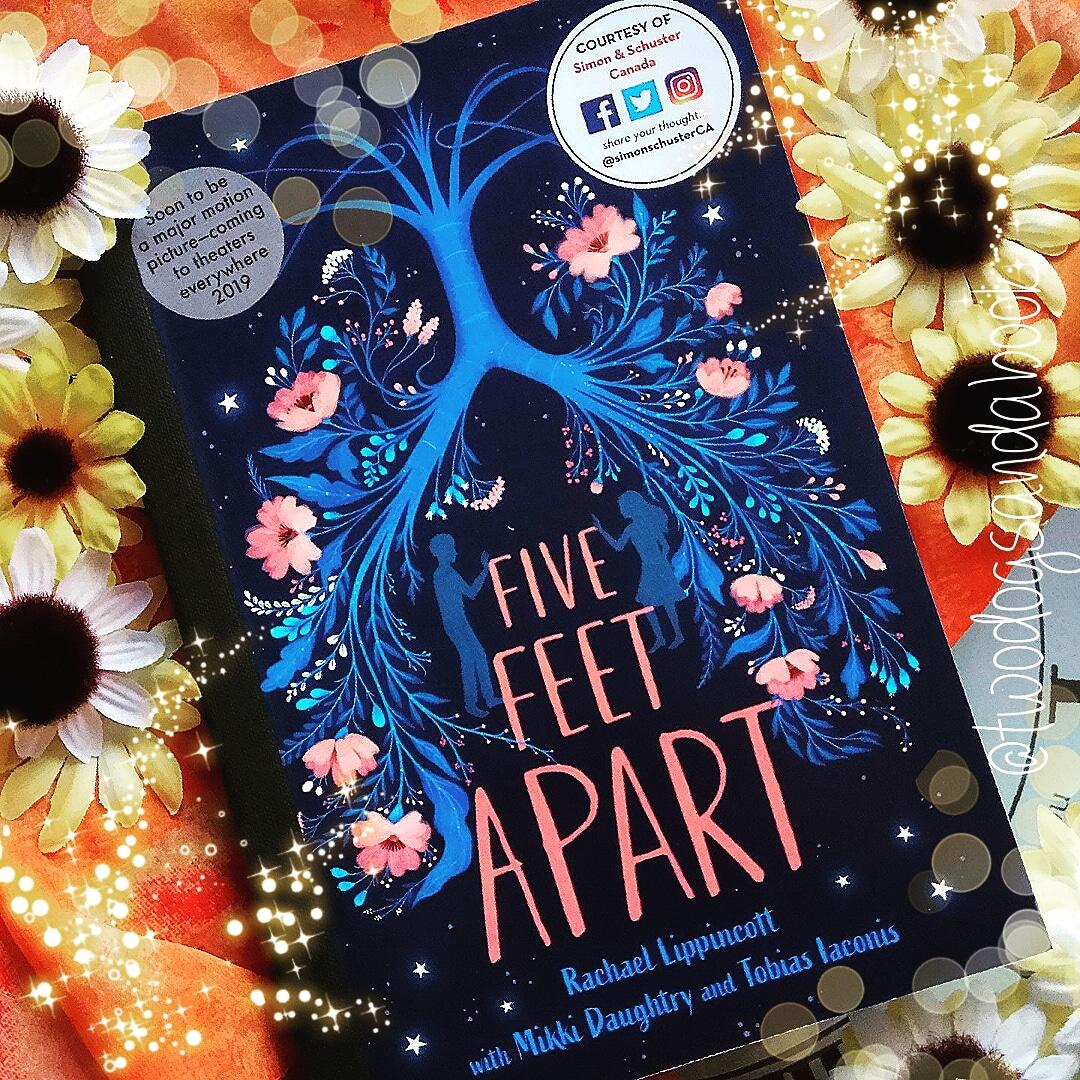BOOK MAIL: Five Feet Apart By Rachael Lippincott