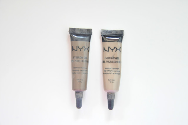 żel do brwi nyx eyebrow gel blonde i brunette