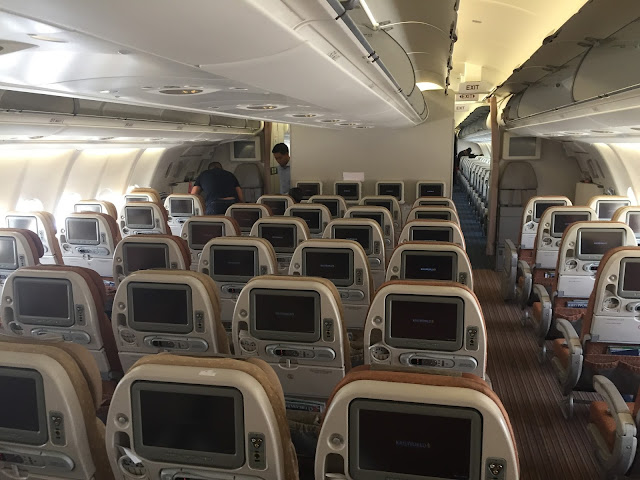 The Airbus A330 Y Class Cabin Is Best Fitted With 2 4 Configuration Not 3 For That You Can Check Out My Trip Report Over Here Cebu Pacific