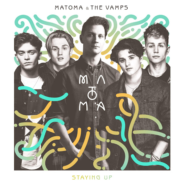 Matoma & The Vamps - Staying Up - Single Cover