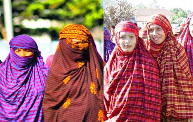 Pakaian Adat Wanita Suku Bima