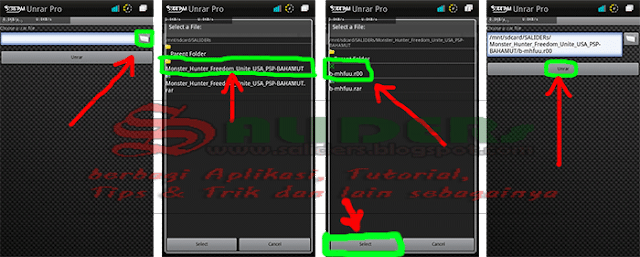 Cara Mudah Extract File Dari Emuparadise Melalui Smartphone dan Pc, SALIDERs