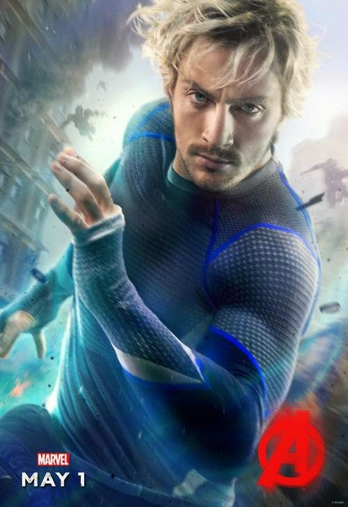 Quicksilver Avengers Age of Ultron poster