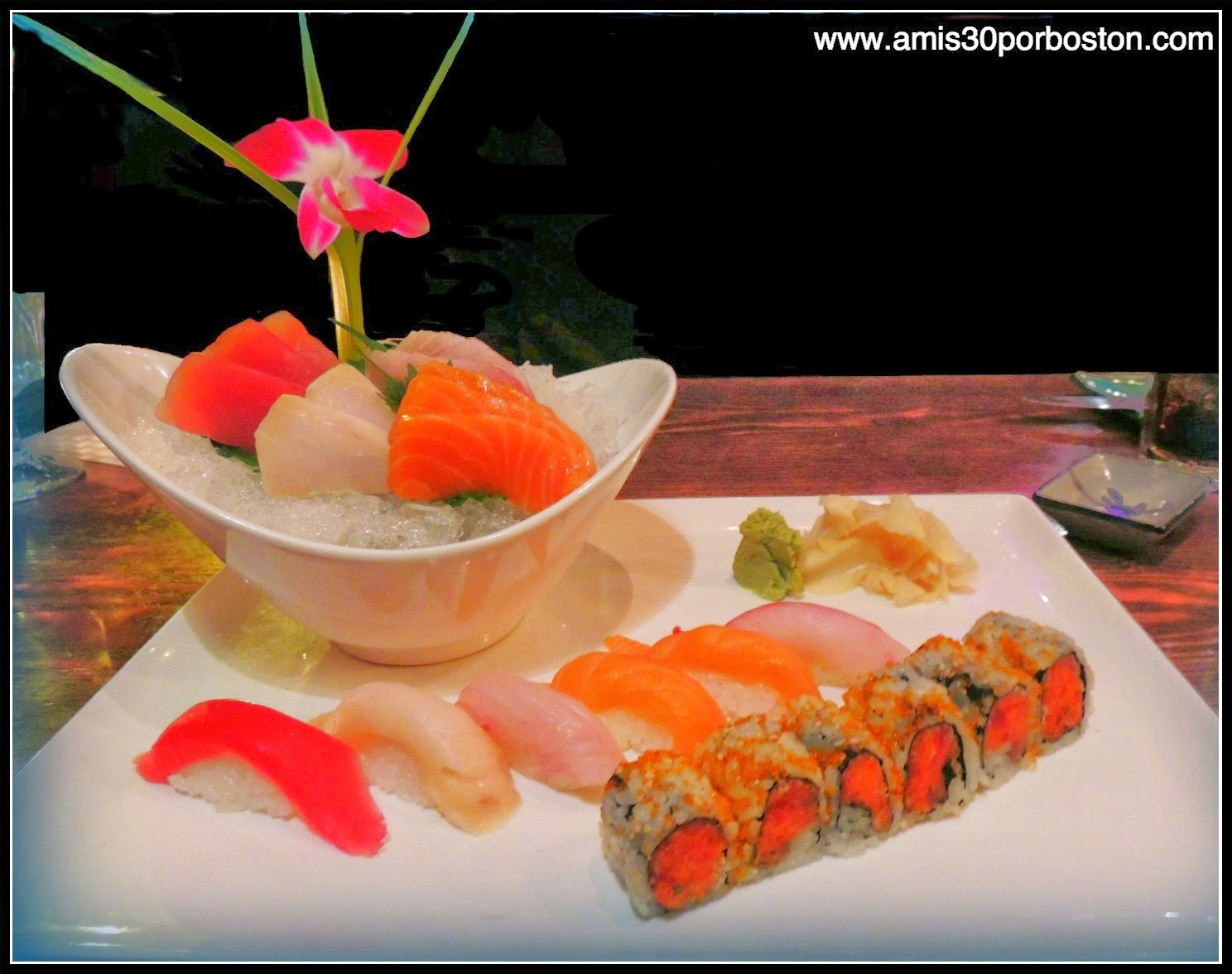 Sushi and Sashimi Set: 6 piezas de Sushi