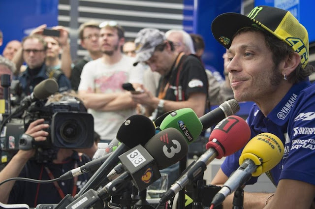 Resmi MotoGP Cabut Aturan yang Bikin Rossi Start Terakhir di Valencia Musim Lalu