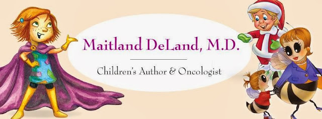 Santa Baby Book Series by M. Maitland DeLand