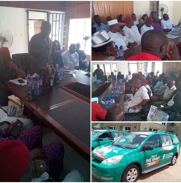 Nwaoboshi Inaugurates Campaign Organization In Asaba