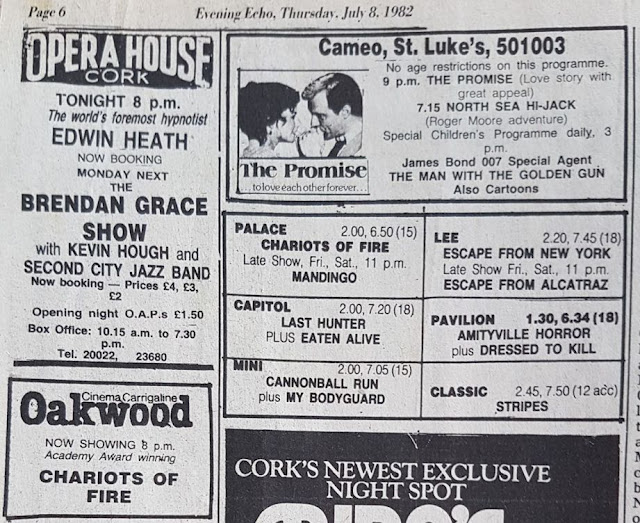 Evening Echo, Cork - Cinema listings
