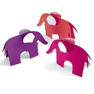 Ide membuat kerajinan berbentuk gajah menggunakan  kertas untuk anak-anak