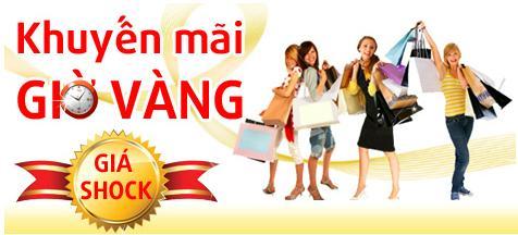 Chương trình khuyến mãi giờ vàng của Aporo Việt Nam