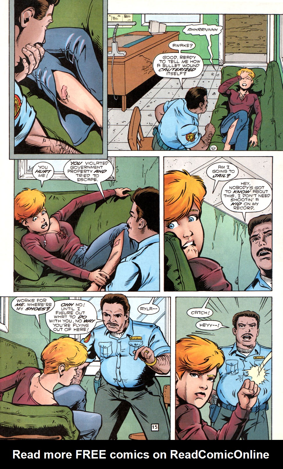 Legion of Super-Heroes (1989) 89 Page 14