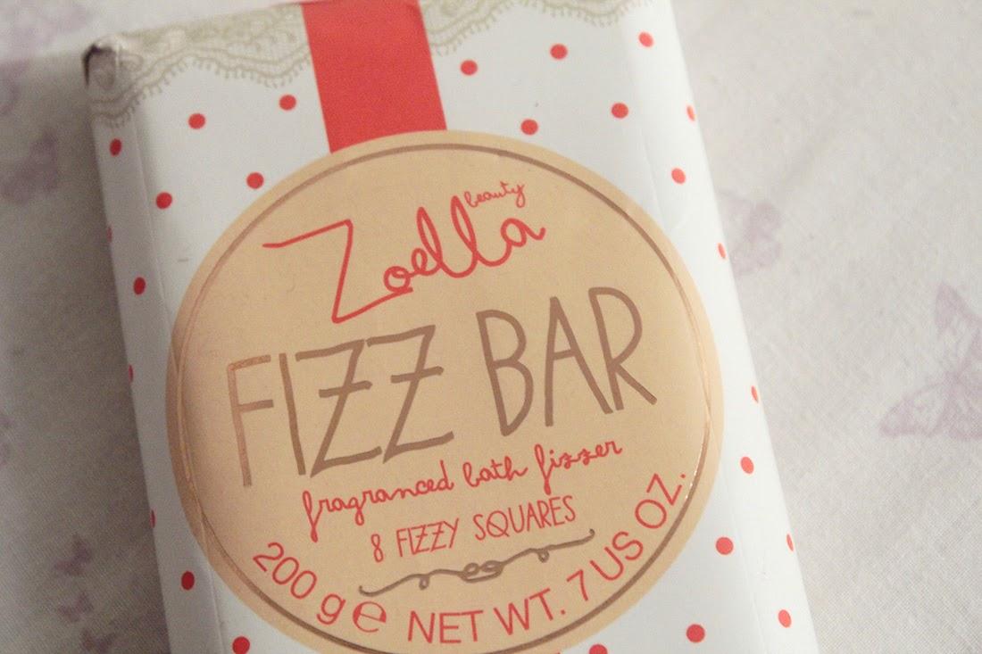 Zoella Beauty Fizz Bar