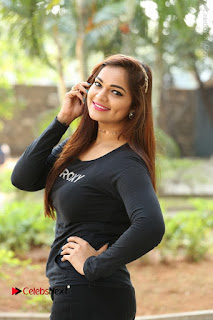 Actress Aswini Latest Stills in Black Denim Jeans  0128.JPG