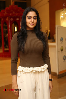 Actress Regina Candra Pos at Asian Para Badminton Championship Winners Felicitation Ceremony  0036.JPG