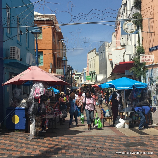 High Street at Swan Street in Bridgetown, Barbados