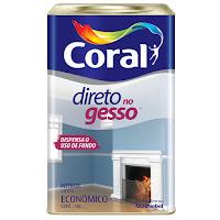 Coral Gesso para tetos