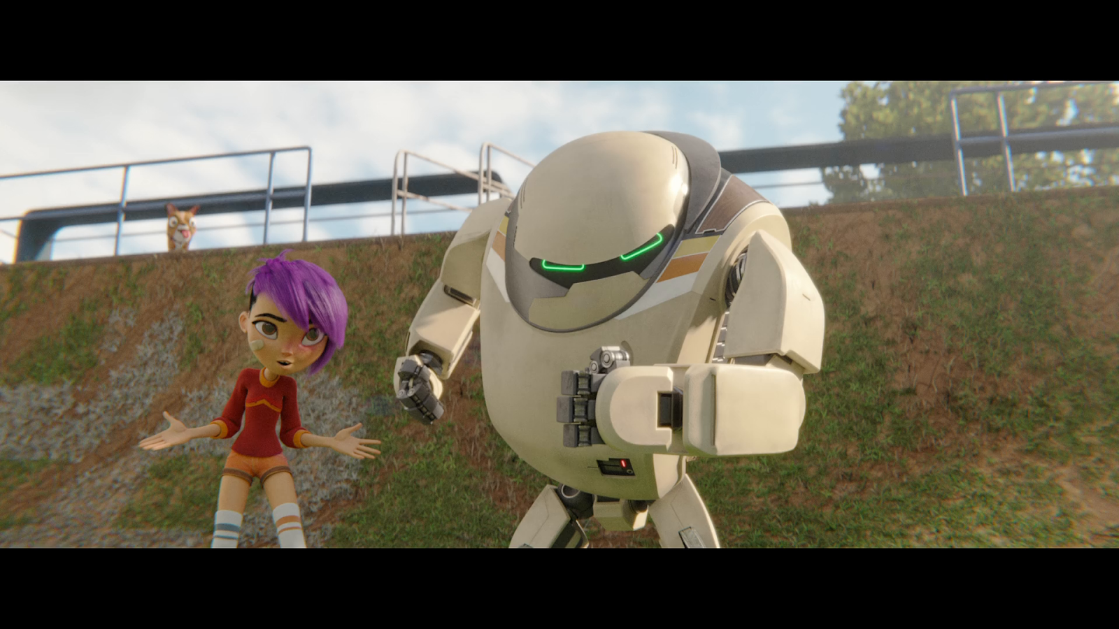 Robot 7723 (2018) Web-DL 720p Latino-Ingles captura 4