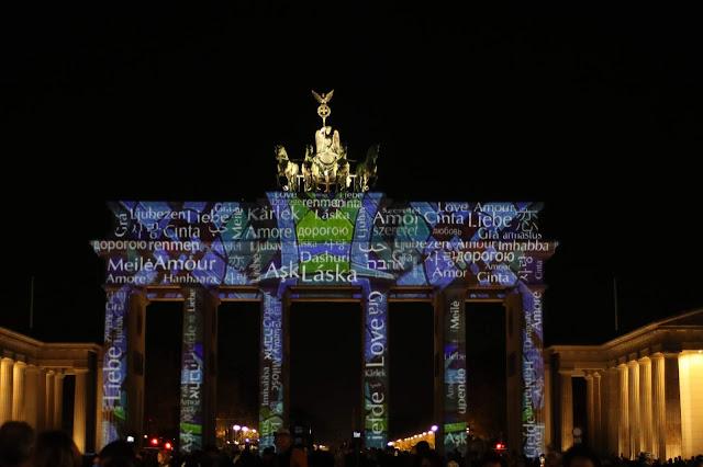 פסטיבל האורות בברלין שער ברנדנבורג