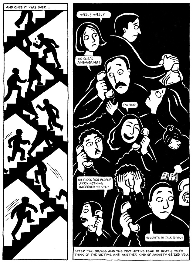 Read Chapter 14 - The Wine, page 102, from Marjane Satrapi's Persepolis 1 - The Story of a Childhood