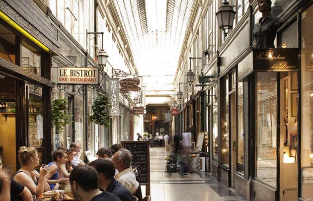Restaurante alternativo em Paris