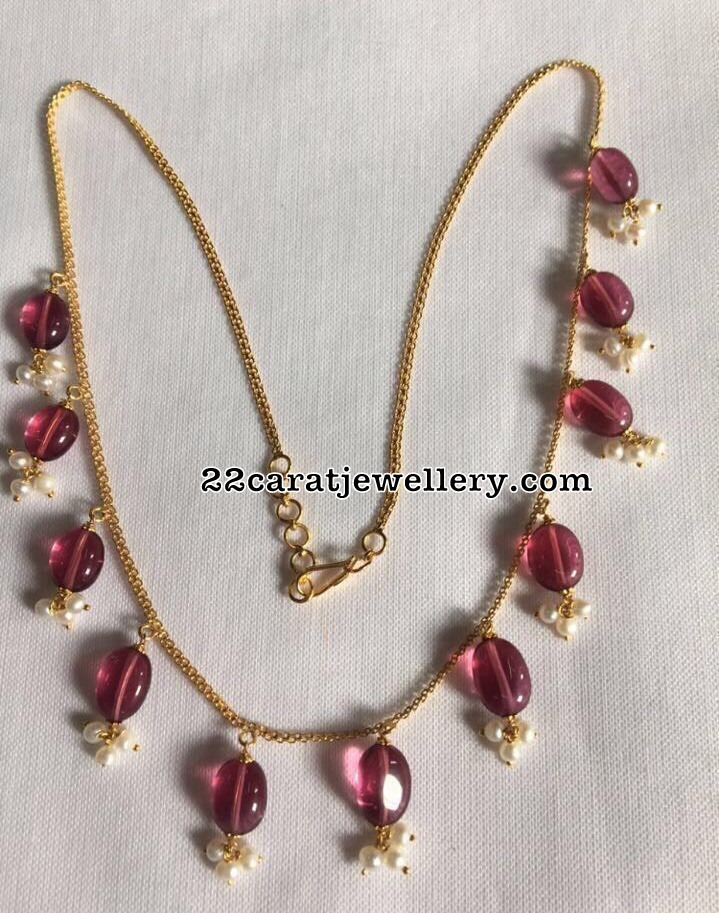 Grand Look 18carat Gold Necklace Sets