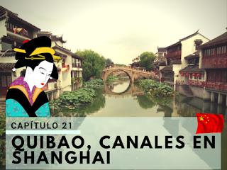 Canales cerca de Shanghai - Quibao