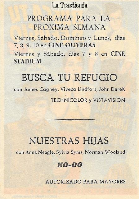 Programa de Cine - Busca Tu Refugio - James Cagney - Viveca Lindfors - John Derek