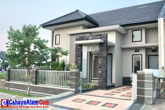 Buat Kesan Rumah Anda Elegan Dengan Batu Alam