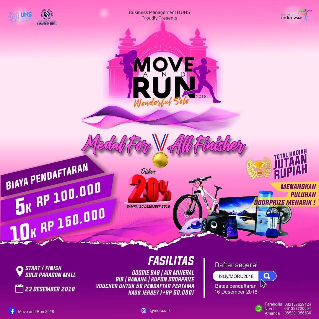 Move and Run • 2018