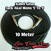 Kabel Gitar Jack Akai Mono 'L' to Akai Mono 'L'