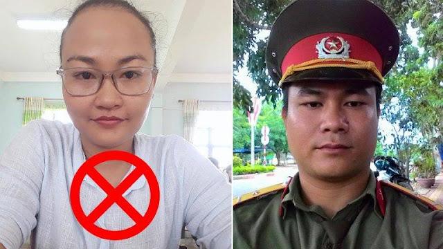 Phó Chủ tịch HĐND phường Đoàn Kết bà Kpă H'Ven và Bùi Văn Hiếu