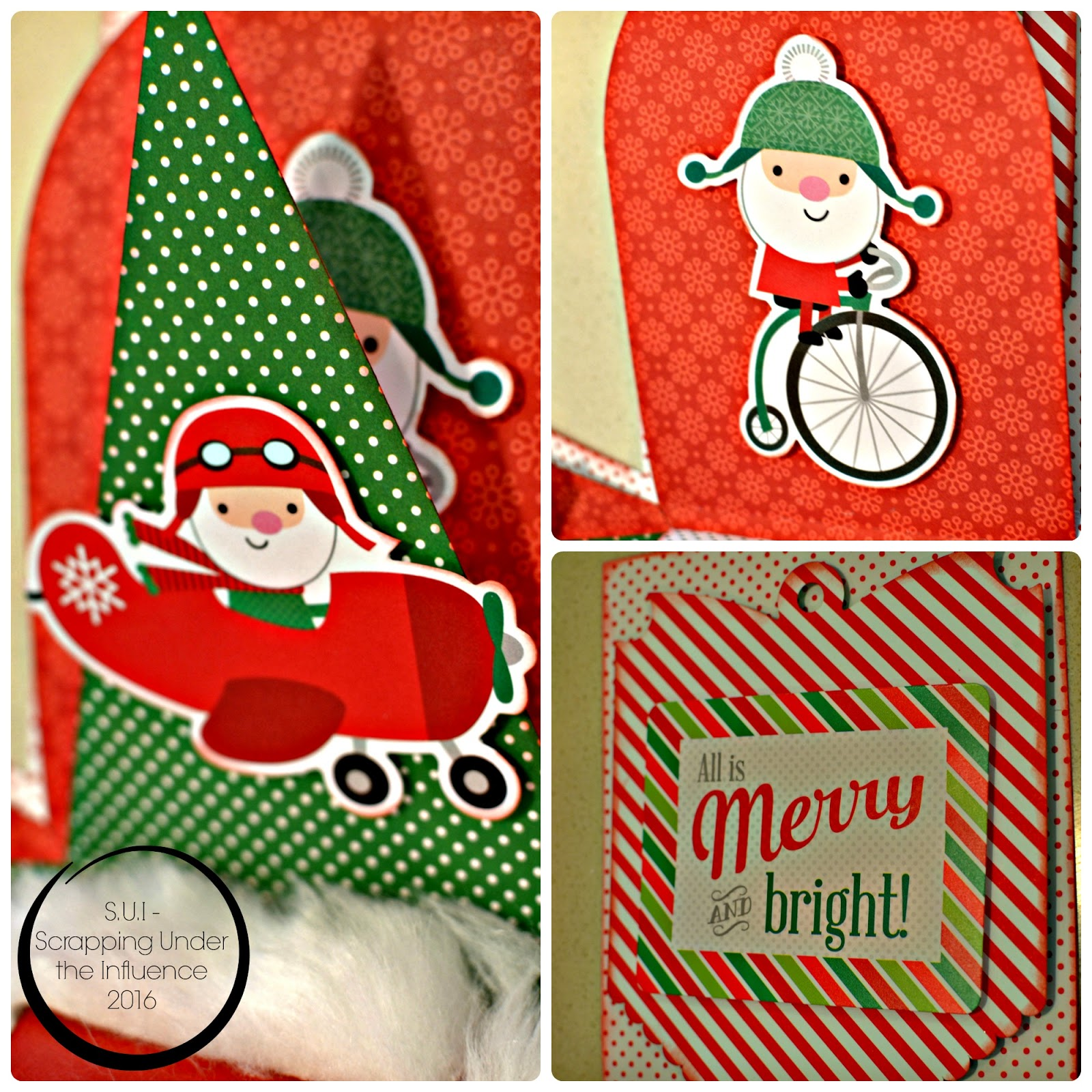 Santa Hat Chair Back Covers Hobby Lobby Diy Bungee Swing Scrapping Under The Influence An Explosion Of Christmas Fun