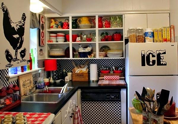 My Boho Rental Kitchen  Cozy Little House