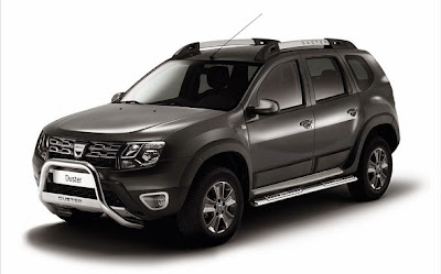 2015 Dacia Duster Front View Model