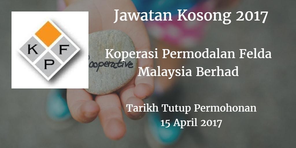 Jawatan Kosong Koperasi Permodalan Felda Malaysia Berhad 15 April 2017