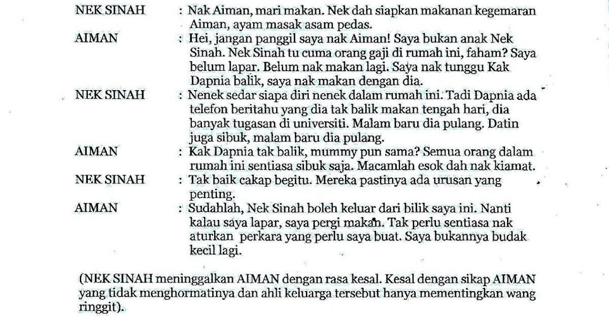 Laman Bahasa Melayu Spm Nota Drama Berkhidmat Untuk Negara Oleh Affix Zulkarnaen Adam Ttingkatan 4