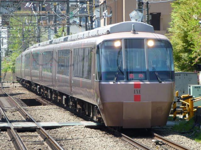 小田急電鉄 特急ロマンスカー臨時50号 新宿行き EXE30000形