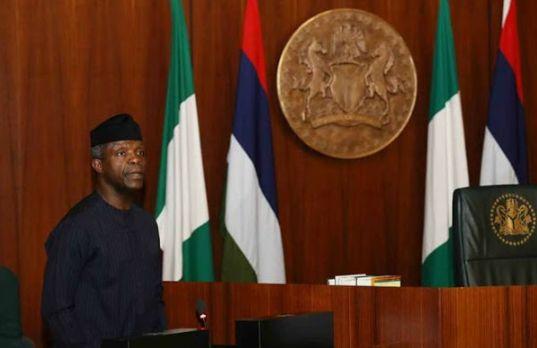Buhari Absent Again? VP Osinbajo Takes Charge Of FEC