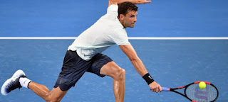 Dimitrov pushed to the limit in Brisbane