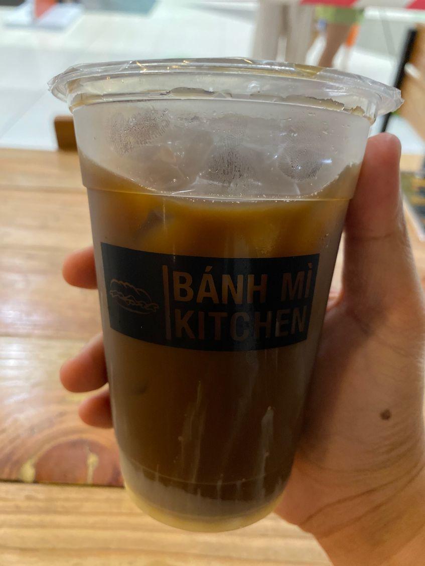 Viet Iced Coffee at Banh Mi Kitchen