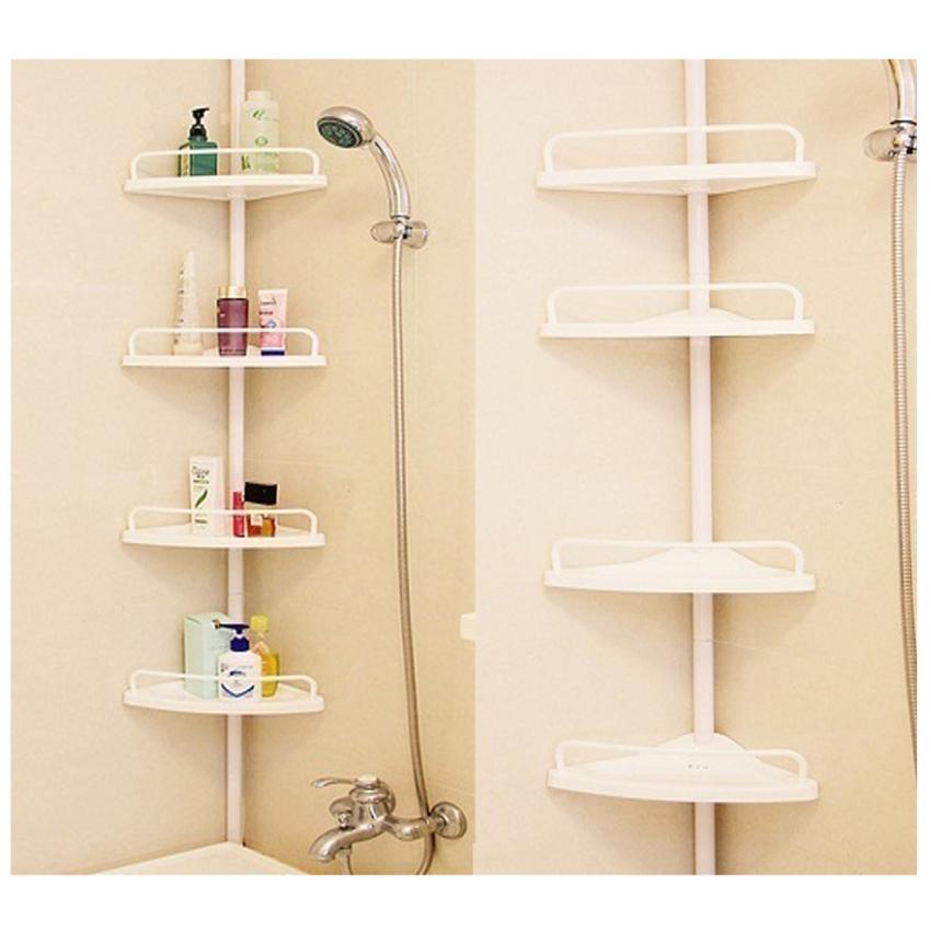 4 TIER CORNER BATHROOM STAND - SopheaBelleStore