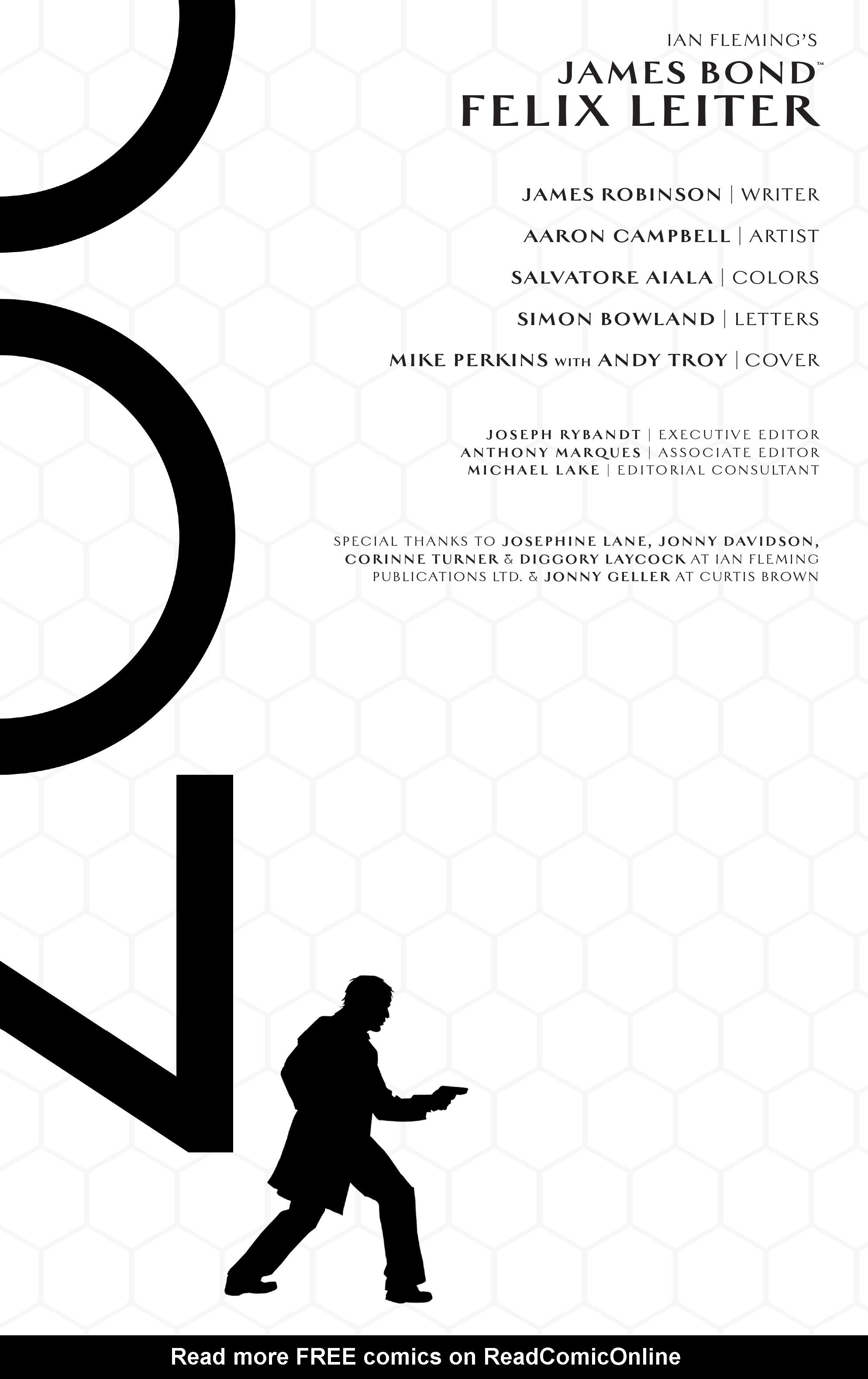 Read online James Bond: Felix Leiter comic -  Issue #6 - 2