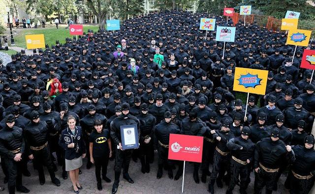Army of batmans