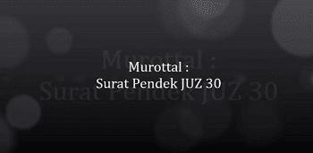 Kumpulan Surat Surat Pendek Al Quran Lengkap Peraturan