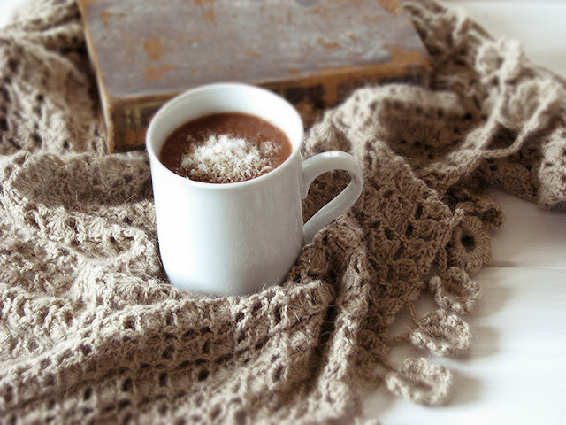 Chocolat chaud sans lactose.