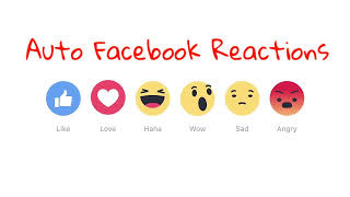 Download Free Facebook (FB) Auto Reaction v2 app APK  latest version for Android phones and tablets device.