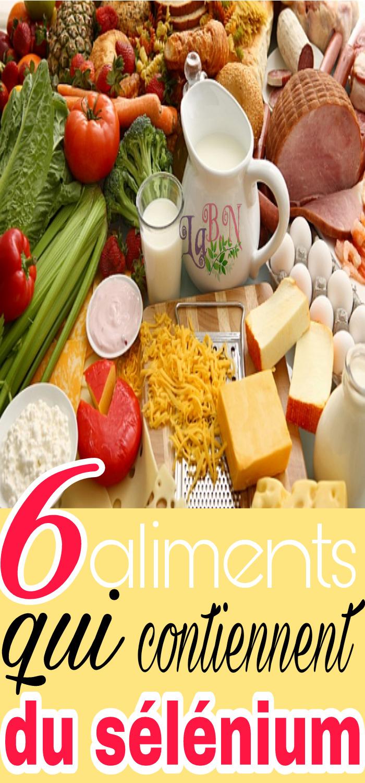 6 aliments qui contiennent du sélénium